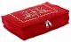 Kuber Industries Embroidery Design Cotton Jewellery Kit, Red - CTKTC30581