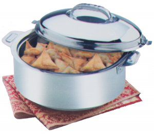 Kuber Industries™ Extra Large Size Casserole/Hotpot,Chapati Box/Chapati Container/Hot Case In Stainless Steel (15000Ml) CAS15K05