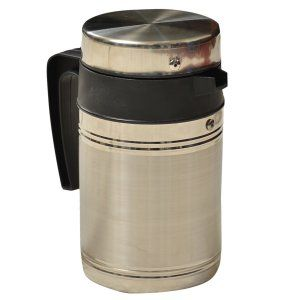 Kuber Industries™ Insulated Stainless Steel Tea Hot & Cold Flask,Tea Serving,Kettle (800 Ml)- KETT02