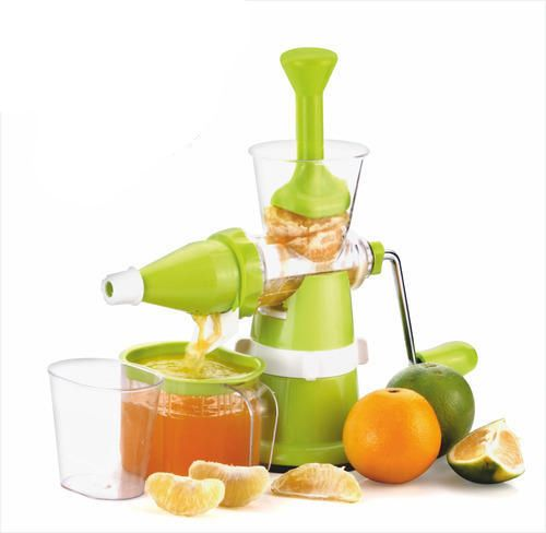Kuber Industries™ Juicer, Fruit & Vegetable Juicer, Manual Hand Juicer, Fruit Juicer with Suction Base (Steel Handle) Set of 1 Pc (JUI007)