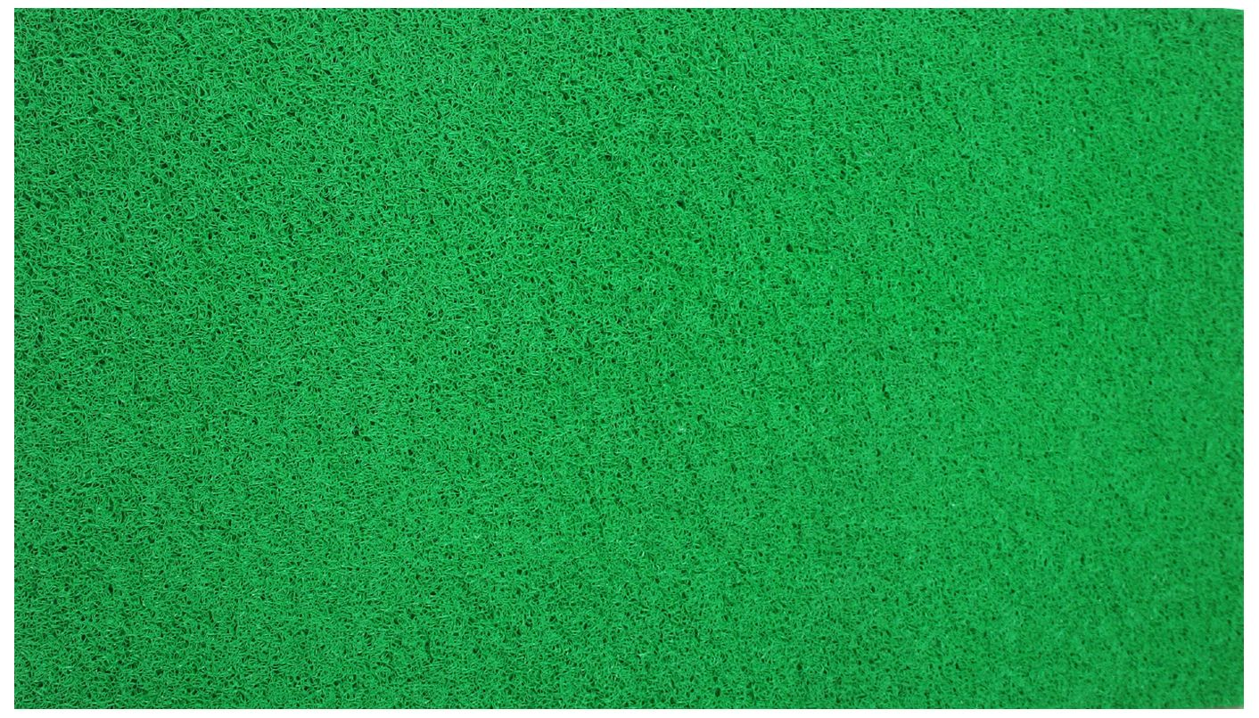 Kuber Industries™ Large Size Dirt Rubb Off Clean Footwear PVC Thick Doormat for Offices,Hotel ,Restaurtaurant, Home,Shop Color- Green Size : 100 cm x 60 cm x 1.5 cm (Code-D05)