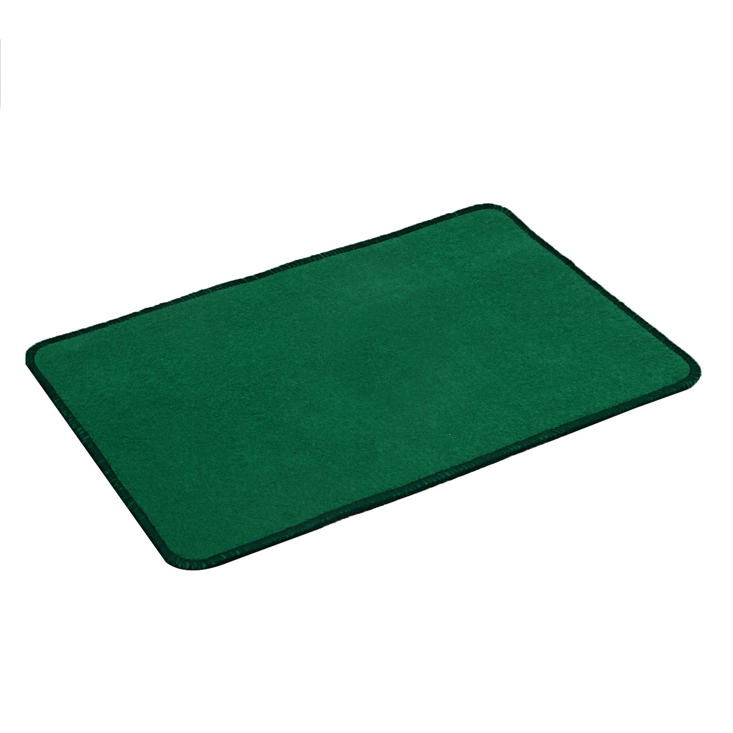 "Kuber Industries Microfiber Anti Slip 6 Pieces Bath Mat 22""x14"", Green"