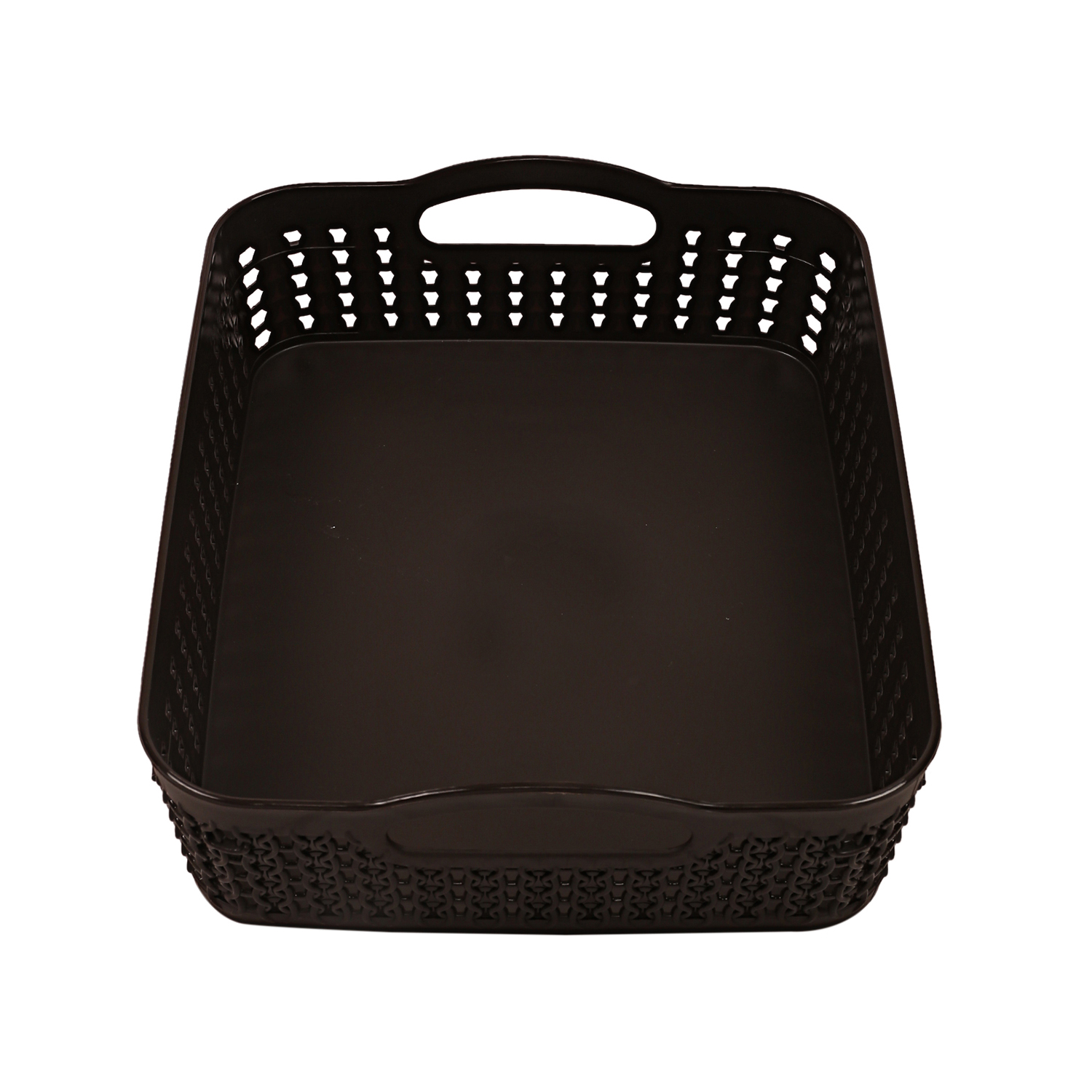 Kuber Industries Plastic 4 Pieces Multipurpose Storage Basket Set (Multi)-CTKTC13436