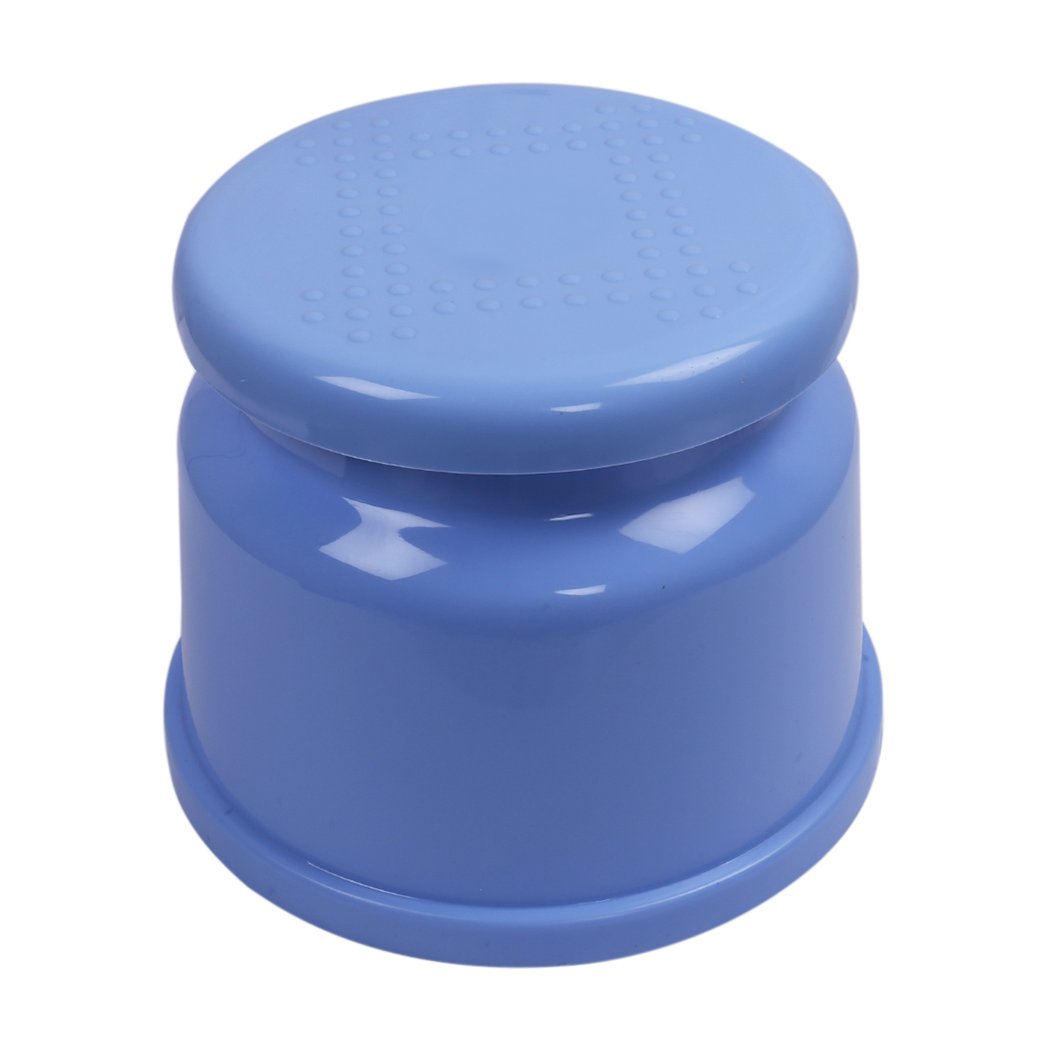 Kuber Industries Plastic 6 Pieces Bathroom Stool/Patla (Blue) -CTLTC10822