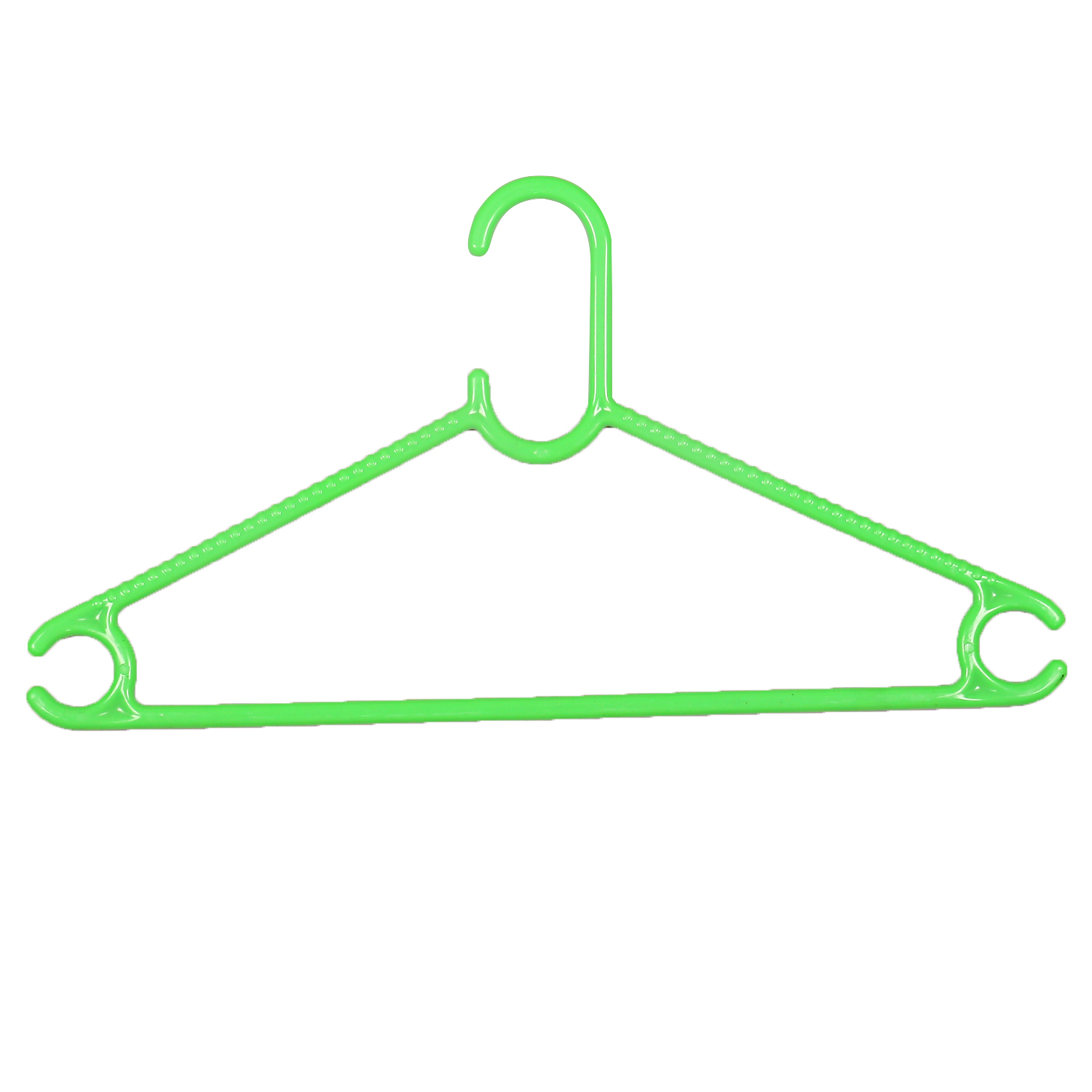 Kuber Industries Plastic 6 Pieces Hanger Set for wardrobe (Multi)