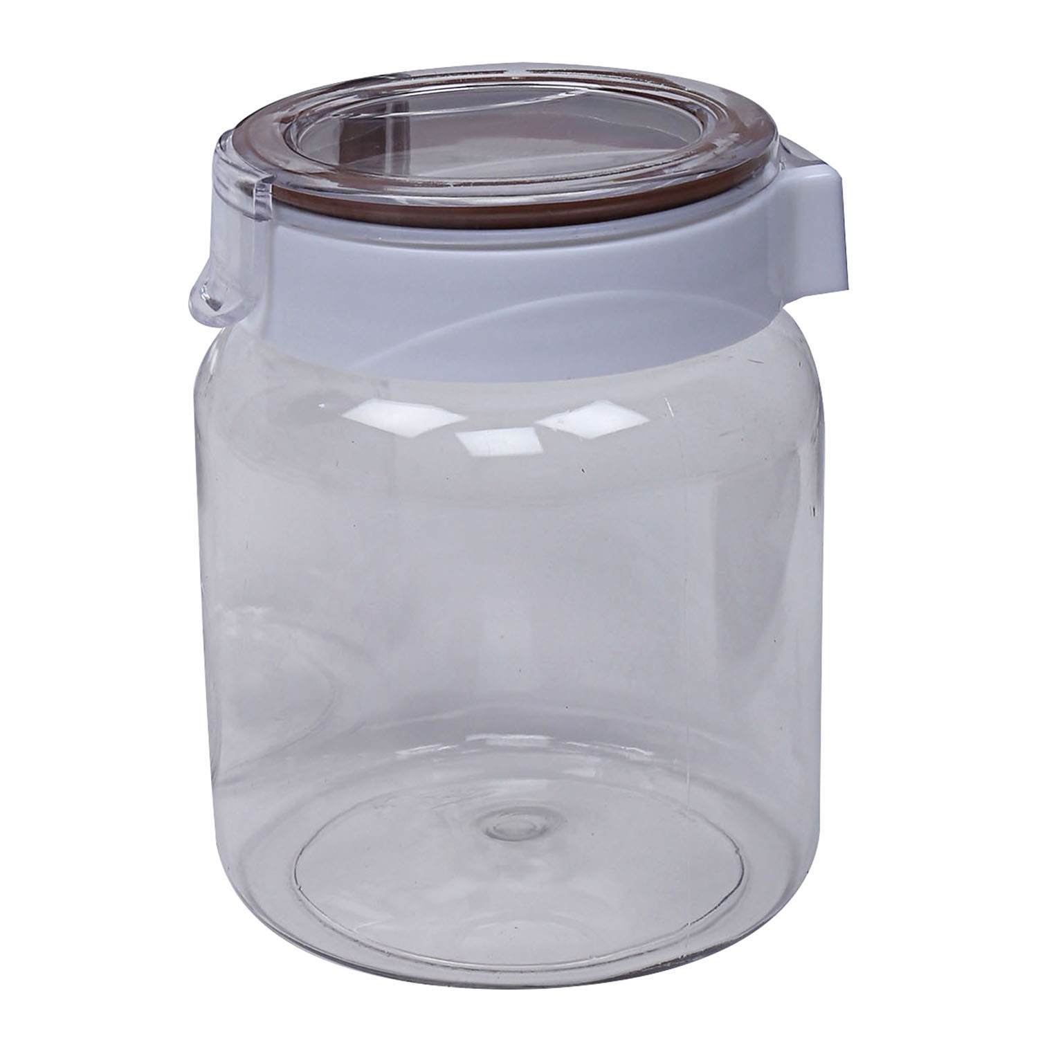 Kuber Industries Plastic Air Tight Lid 4 Pieces Multipurpose Storage Container Set 350 ml (Transperant) - CTKTC23411