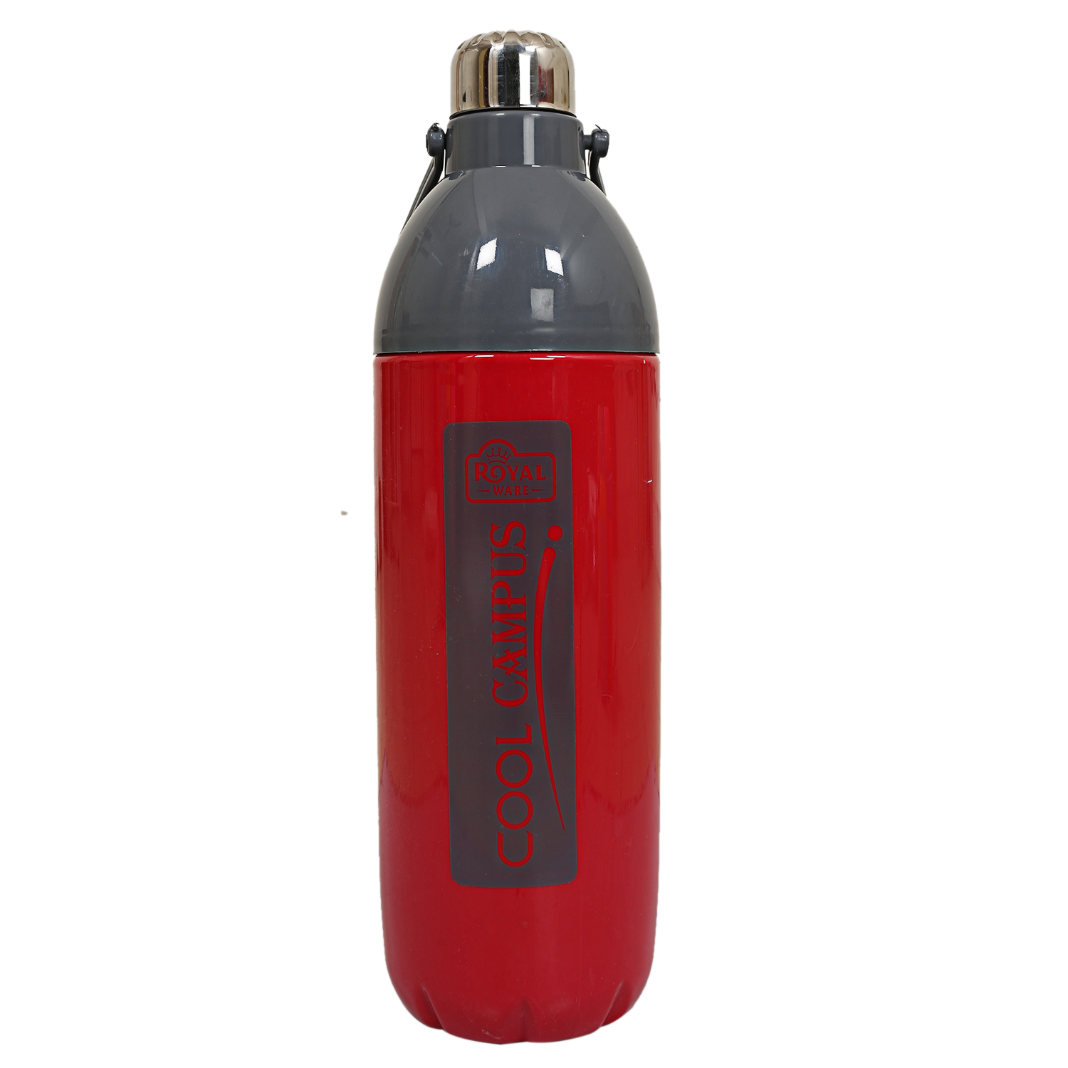 Kuber Industries Plastic Insulated Water Bottle with Handle 2200 ML (Maroon) -CTLTC11108