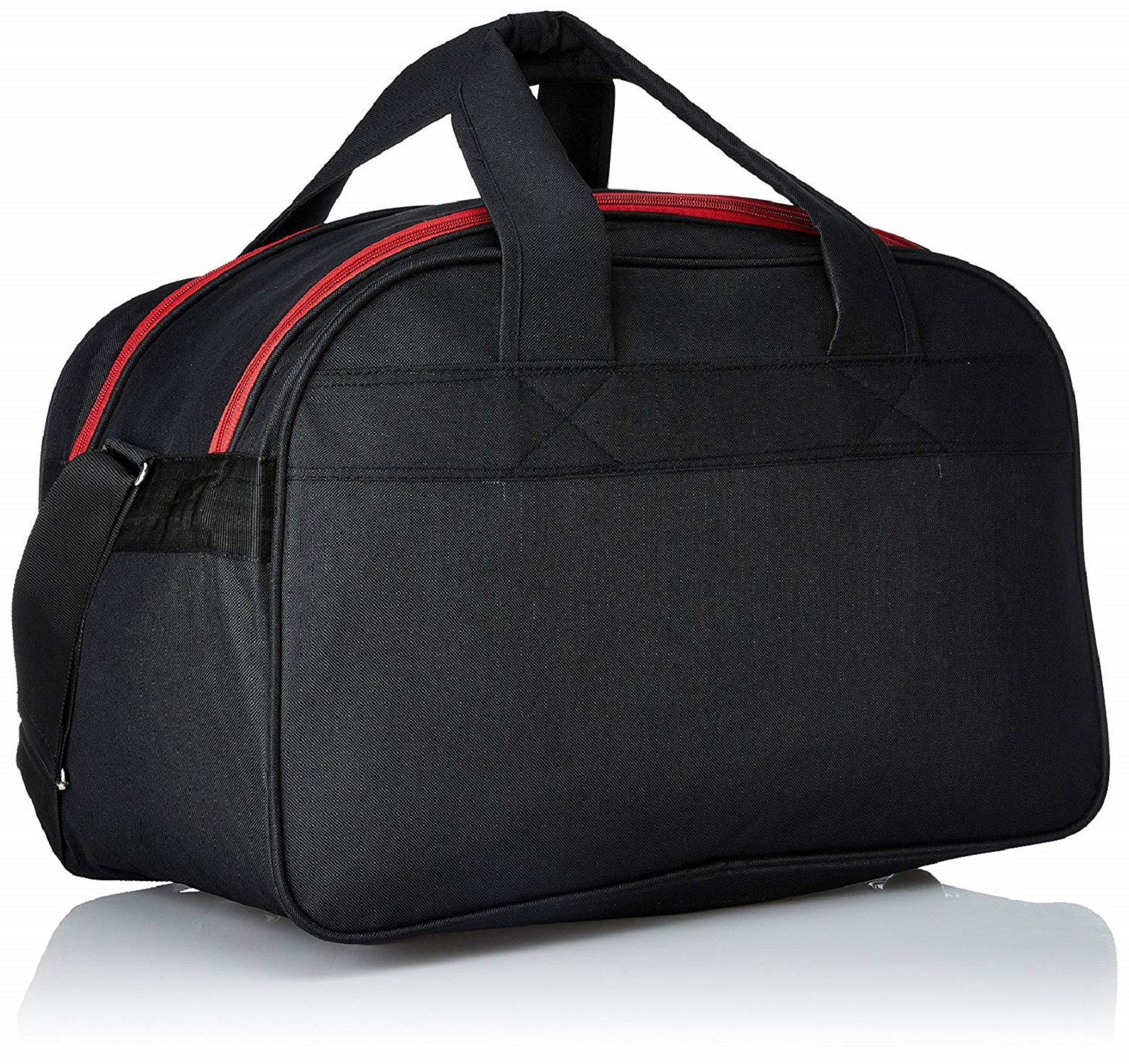 Kuber Industries Polyster  Travel Duffle Bag (Black & Red) Switchon Audi 3 -CTKTC8840