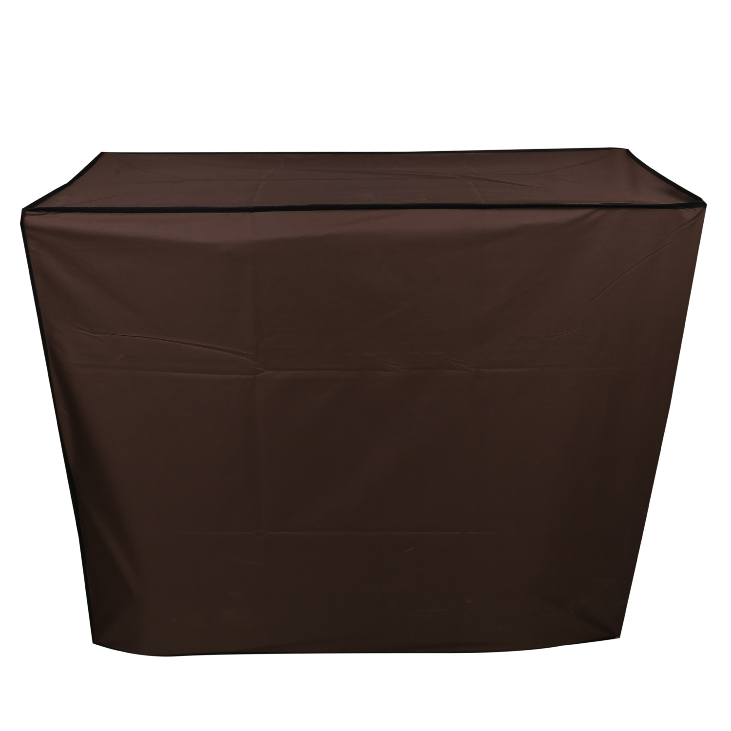 Kuber Industries PVC AC Cover of Indoor and Outdoor Unit for 1.5 Ton Capacity (Brown) -CTKTC5775