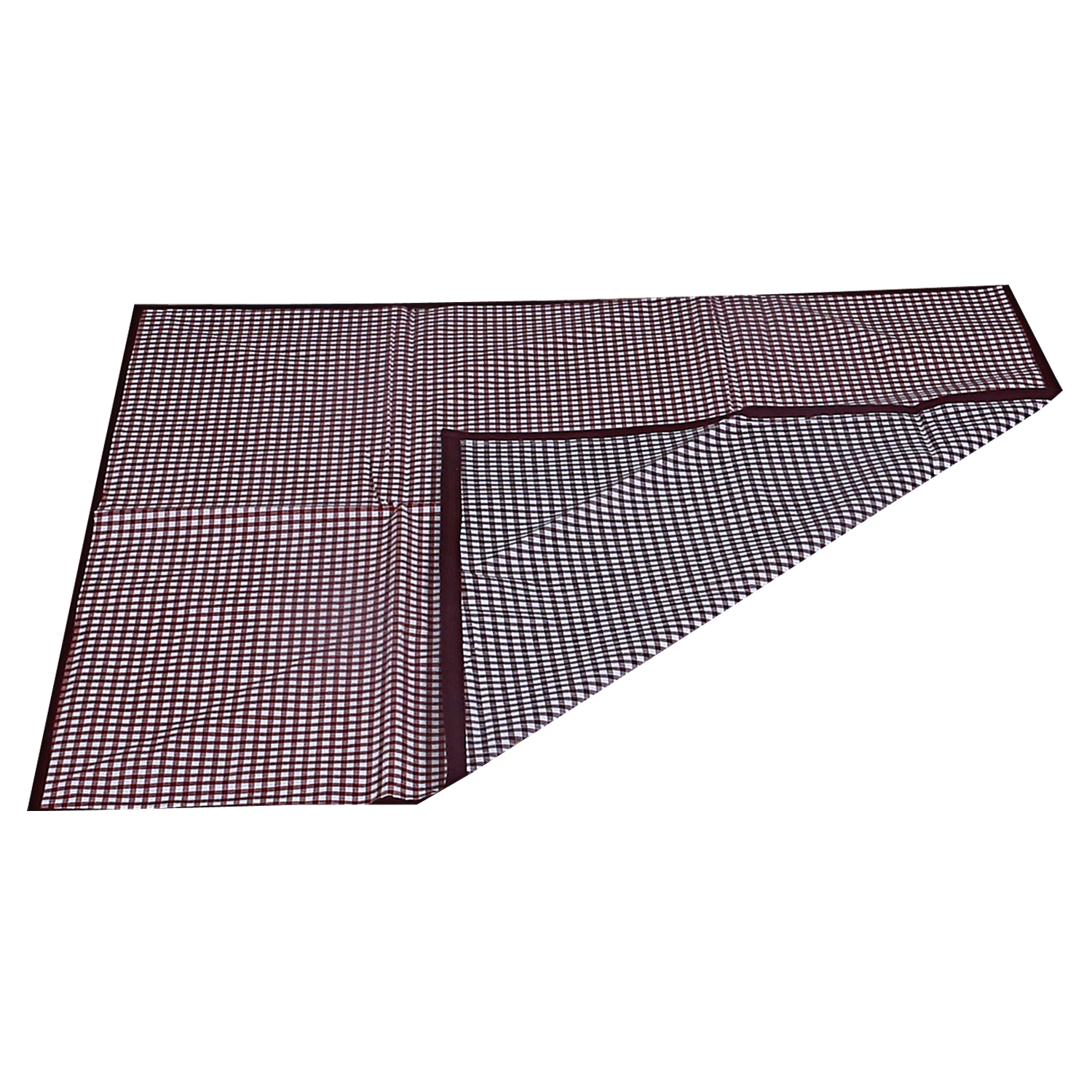 "Kuber Industries PVC Reversible Food Mat Bed Server 36""x35.5""(Maroon)  -CTLTC11061"