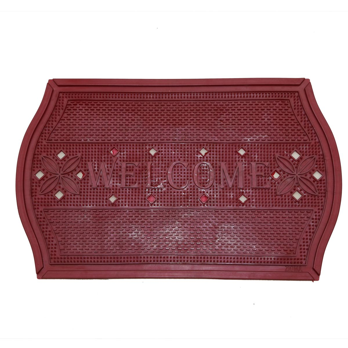 Kuber Industries™ PVC Thick Welcome Door Mat for Offices,Hotel ,Restaurtaurant, Home,Shop Set of 5 Pcs  (70*42 Cm) Door0177