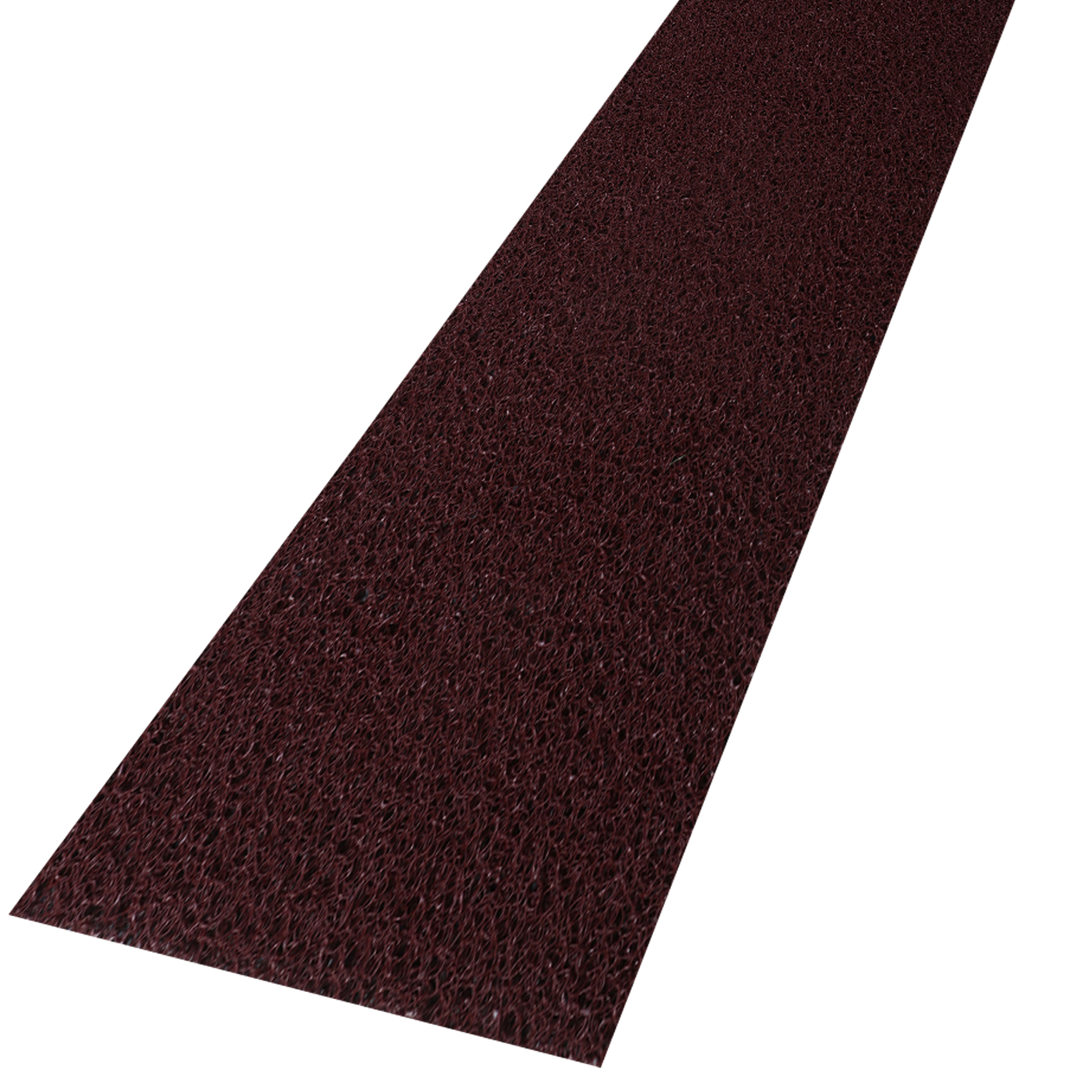Kuber Industries Rubber 1 Piece Bed Side Runner 2x8 Feet (Maroon)