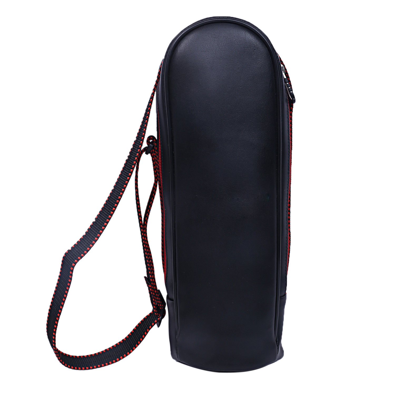 Kuber Industries Soft Leather Water Bottle Bag, Black, 2 LTR  -CTKTC21260