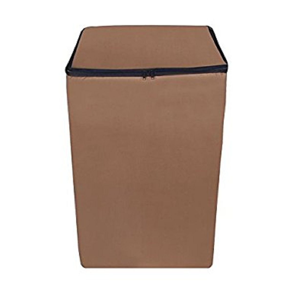 Kuber Industries™ Top Load Fully Automatic Washing Machine Cover Brown Color (Suitable For 6 kg, 6.5 kg, 7 kg, 7.5 kg )