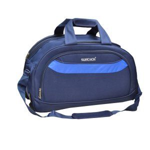 Kuber Industries™ Travel Duffle Wheel Luggage Bag, Shoulder Bag with Inner Pocket (Blue) - 50 cm (CODE-TRO04)