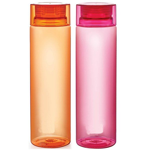 Kuber Industries™ Unbreakable Fridge/Refrigerator Bottle (1000 ML) Set of 2 Pcs (Code-Botl02)