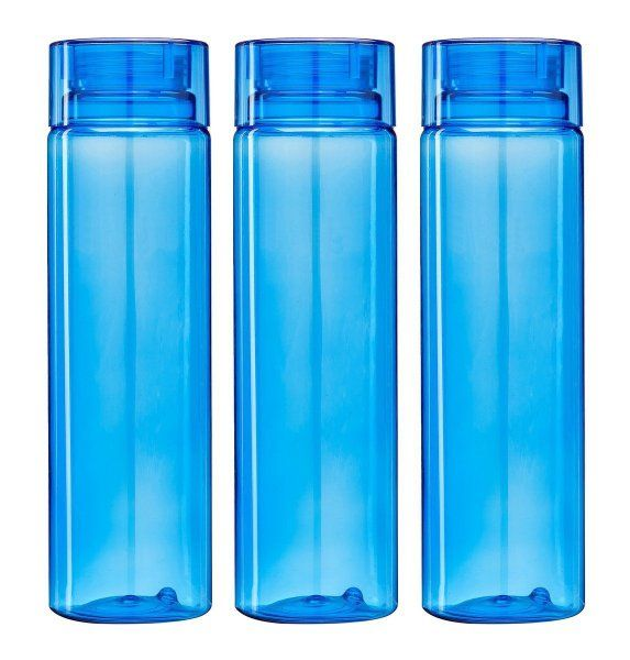 Kuber Industries™ Unbreakable Fridge/Refrigerator Bottle (1000 ML) Set of 3 Pcs (Code-Botl09)