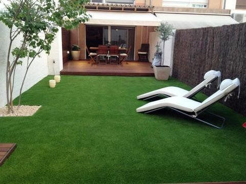 Kuber Industries™35 MM Artificial Grass For Balcony,Grass Carpet Soft And Durable Plastic Turf Carpet Mat, Artificial Grass(2x3Feet)