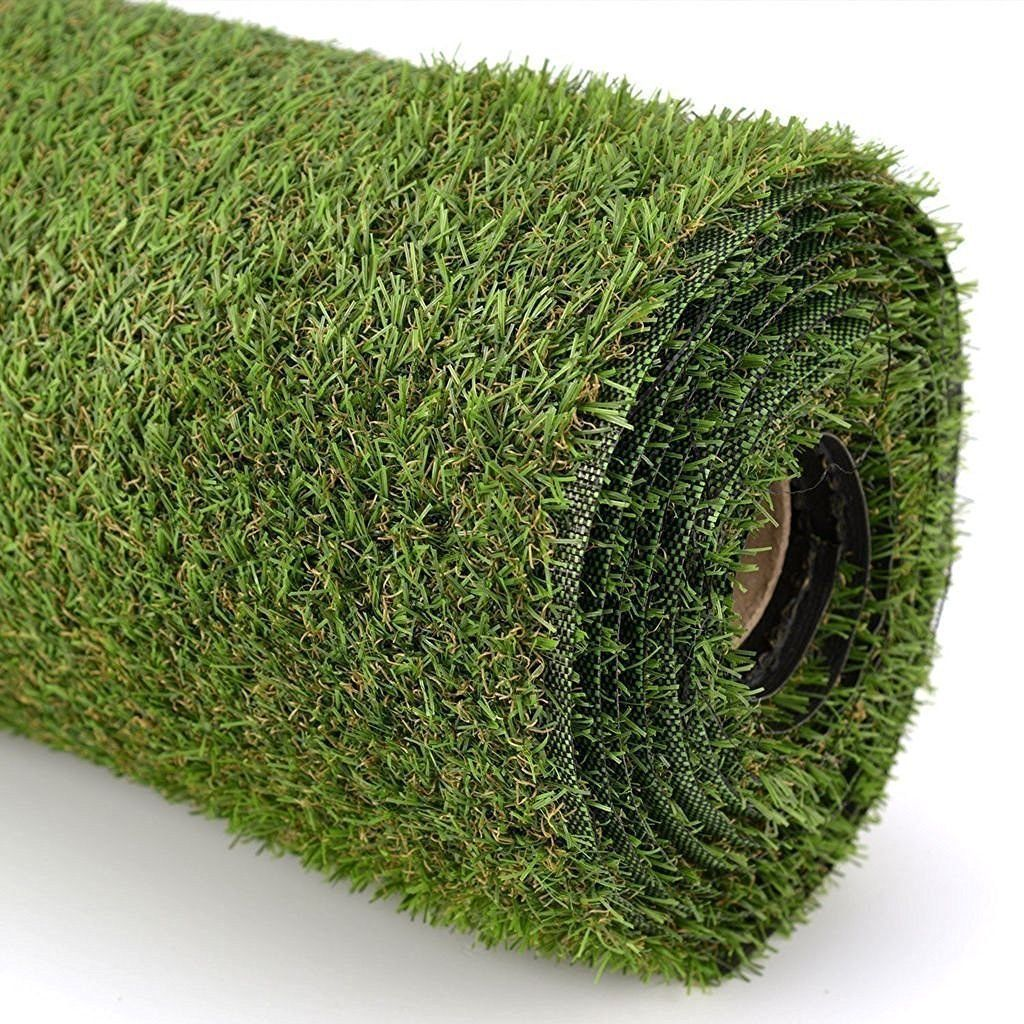 Kuber Industries™35 MM Artificial Grass For Balcony,Grass Carpet Soft And Durable Plastic Turf Carpet Mat, Artificial Grass(6.5 x 6 Feet) 78 X 72 inches
