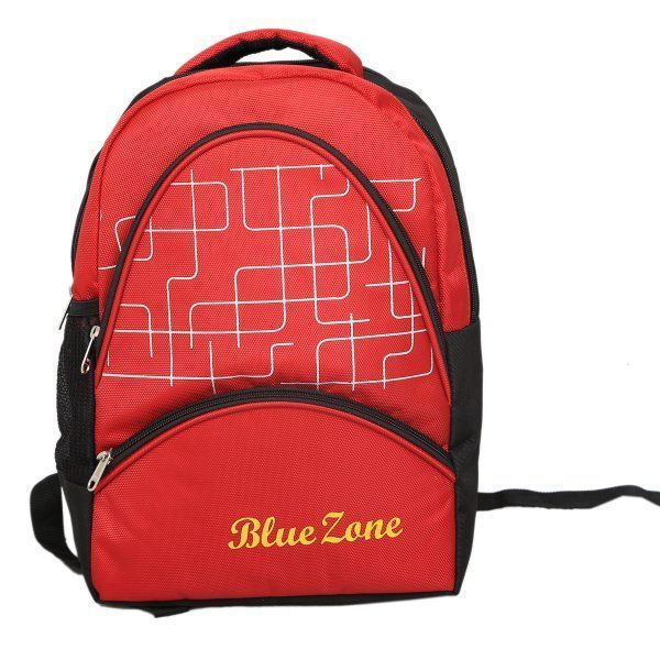 Kuber Industries 30 Ltrs School Bag Backpack (Red) - KI9082