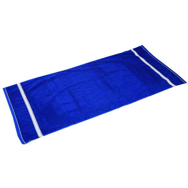 Kuber Industries Soft Terry Full Size Men's Bath Towel GSM-400 (30*60 Inches ) Royal Blue -KU1