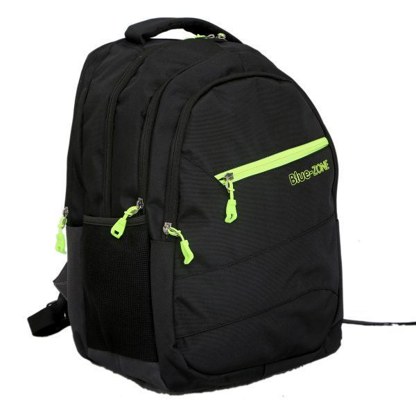 Kuber Industries 30 Ltrs School Bag, Backapack (Black)-KI19090
