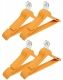 Kuber Industries Plastic Hanger For Suit Set of 24 Pcs,Wooden