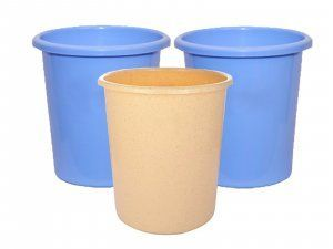 Kuber Industries™ Portable Waste Bin/Dust bin/Rubbish bin/Trash Can/Garbage Bin-Homeware set of 3 Pcs (Assorted Color) Code19