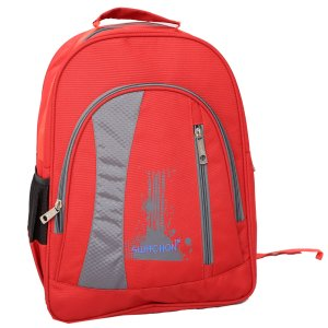 Kuber Industries 30 Ltrs School Bag, Backapack  (Red)-KI19019