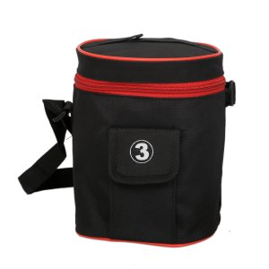 "Kuber Industriesâ""¢ Lunch Cover, Carry Bag (Black) - KI19468"