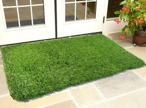 Kuber Industries™ 45 MM Arificial Grass For Floor, Soft And Durable Plastic Natural Landscape Garden Plastic Door Mat, Artificial Grass Large Size(100 cm x 60 cm x 1.5 cm) Grass0109
