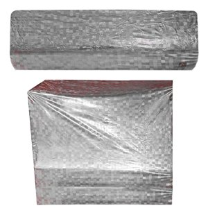 Kuber Industries PVC 2 Pieces Split Indoor & Outdoor AC Cover for 1.5 Ton Capacity (Grey)