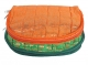 Kuber Industries Cotton 2 Pieces Jewellery Kit (Orange & Green) -CTKTC5341