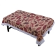 Kuber Industries PVC 4 Seater Center Table Cover (Brown)-CTKTC5381