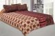 Kuber Industries Cotton Double Bed Sheet with Two Pillow Covers -  Brown