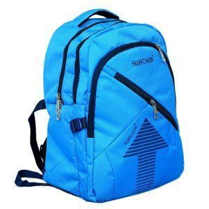 Kuber Industries 30 Ltrs School Bag Backpack (SkyBlue) - KI9002