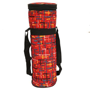Kuber Industries Canvas 2 Ltr Water Bottle Cover (Red) Set of 1 Pc