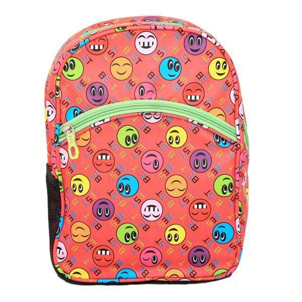 Kuber Industries Smileys Junior 12 Litres Kids Backpack (3-5 Years) - KI9075