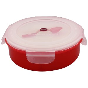 Kuber Industries Trueware Spice Masala Container (Red)-CTKTC3579