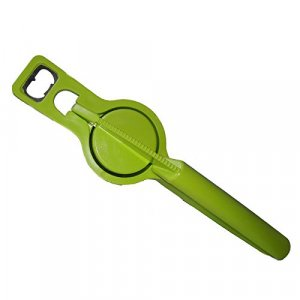 Kuber Industries™ Lemon Squeezer with Bottle Opener attached Premium Quality Unbreakable Plastic Body (2 in one) L05
