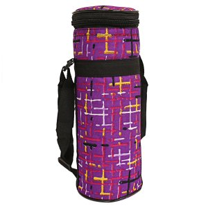 Kuber Industries Canvas 1 Ltr Water Bottle Cover (Purple) Set of 1 Pc