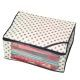 """Kuber Industries™ Non Woven Polka Dots Designer Saree Cover (Ivory) """