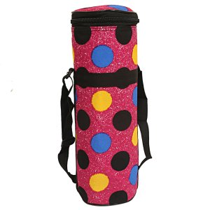 Kuber Industries Canvas 2 Ltr Water Bottle Cover (Pink) Set of 1 Pc