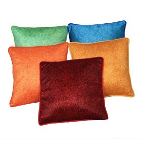 Kuber Industries™ Premium Color Blend Cushion Cover - Set of 5 - Multicolor  (16*16) Inches