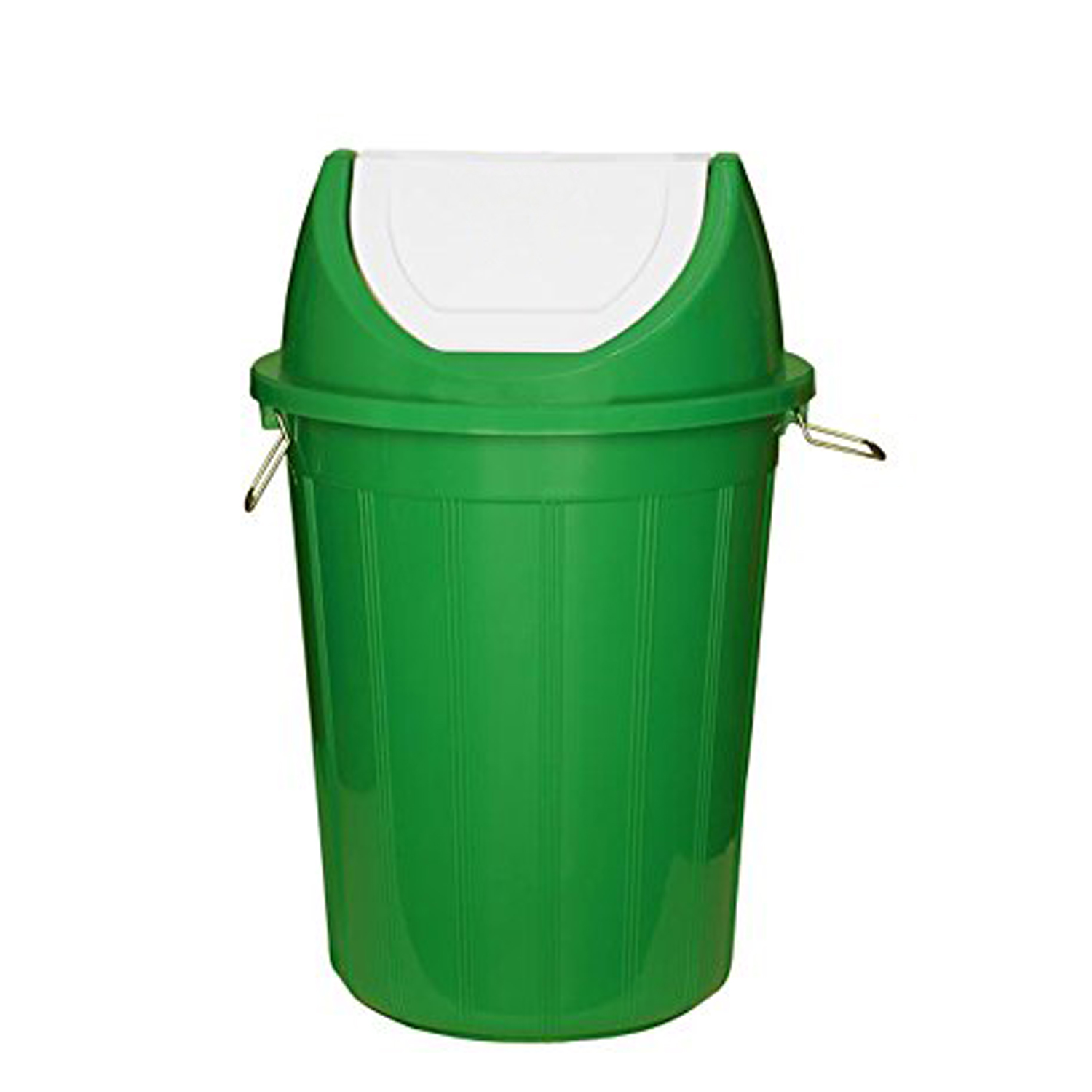 Kuber Industries Plastic Large Size Dustbin/Garbage Bin (Green) CTKTC1632