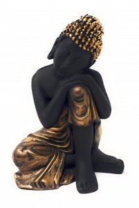 Kuber Industries™ Thinking Buddha Idol/ Buddha Statue/Buddha Showpiece/Buddha Figurine/ Buddha Sculpture
