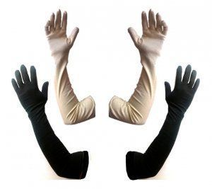 Quot Kuber Industries Cotton Gloves Arm Sleeves Gloves Sun
