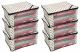 """Kuber Industries™ Non Woven Polka Dots Designer Saree Cover Set of 6 Pcs (Ivory) """