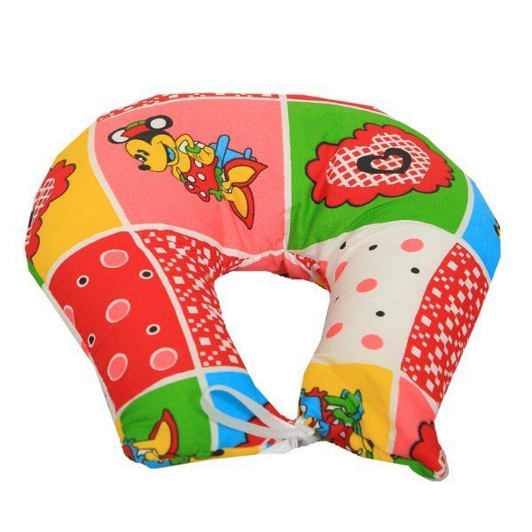 "Kuber Industriesâ""¢ U Shape Feeding & Nursing Baby Neck Pillow - Color and Print May Vary - KUB382"