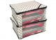 """Kuber Industries™ Non Woven Polka Dots Designer Saree Cover Set of 2 Pcs (Ivory) """